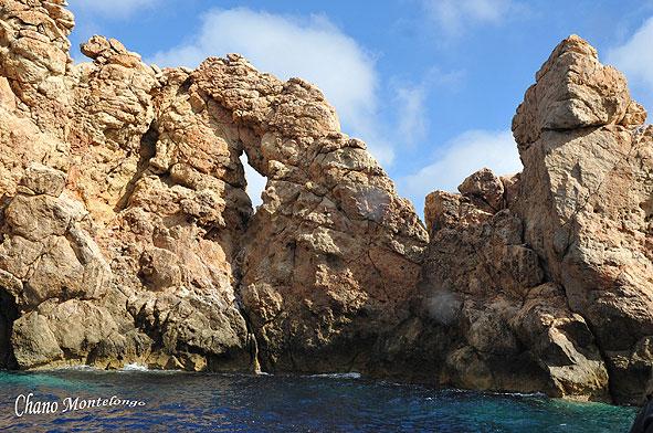 Islote pequeño de las islas Bledes (Foto: Chano Montelongo)